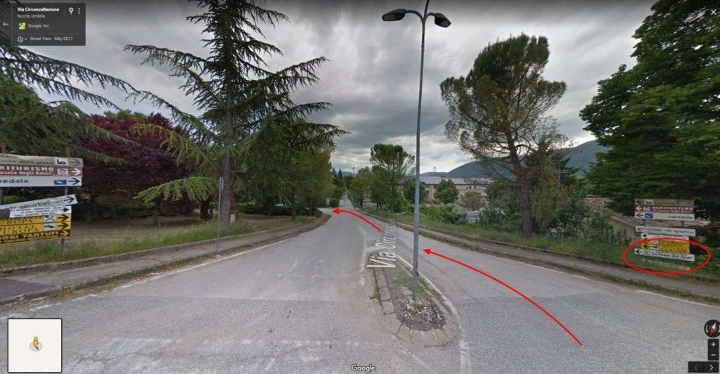 Via Circonvallazione Google Maps